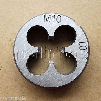 10 мм x 1 Метрическая Right Hand Die M10 x 1.0 мм шаг