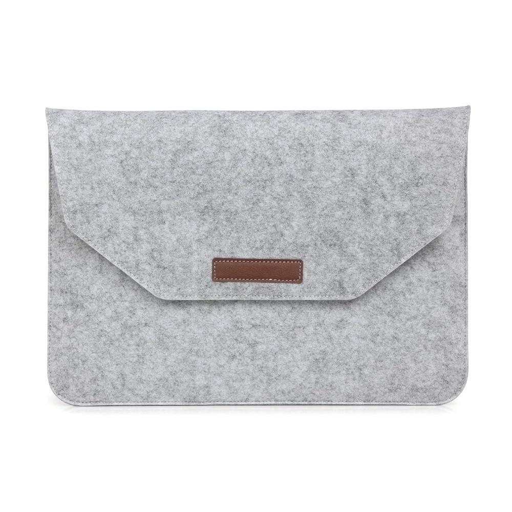 Laptop Sleeve Pouch Bag Voor Apple Macbook (10st) Luxe Retro Grijze - Notebook accessoires - Foto 4