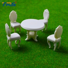 Teraysun New architectural scale models 1;25 miniature model tables and chairs Suit