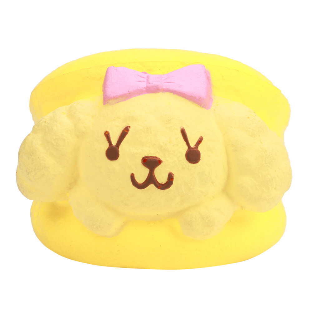 Hamburg Dog Toy Squishy Super Jumbo Scented Slow Rising Rare Fun Squeeze Toy Desk Decoration Make you happy Stress Reliever