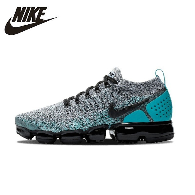 buy popular edd28 5fb8a NIKE Air Vapormax Flyknit 2 Original Mens Running Shoes Super Light  Stability Support Sports Sneakers For Men Shoes 942842-104