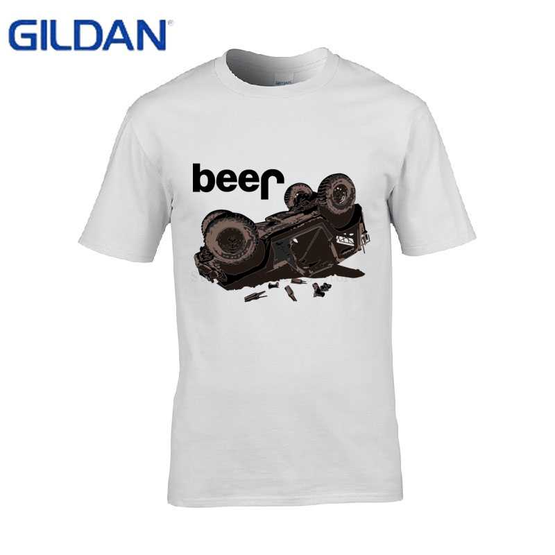 fd0f6790 ... Breathable Tee Shirt Men Beer Jeep Drinking Printed T Shirt Men 2017  Printing Fit T- ...