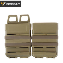 CheckOut IDOGEAR Tactical Fastmag MOLLE Mag Carrier 5.56 Rifle Magazine Pouch Holder Set Hunting 3535 saleoff