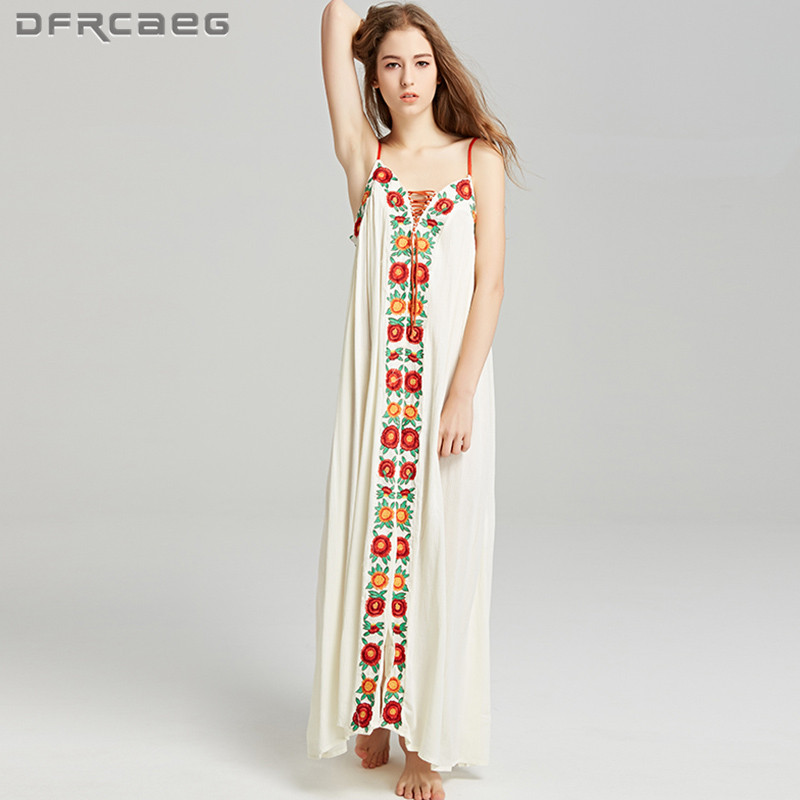 1ca77c47528 Boho-Style-2018-Summer-Floral-Embroidery-Maxi-Dress -People-Sleeveless-Vintage-Spaghetti-Strap-Dresses-Beach-Casual.jpg