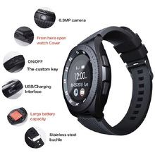 Smart watchs wristband style health monitoring smart reminder information push Pedometer support SIM card photo function HD call