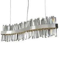 new wave design crystal pendant lights modern lamp AC110V 220V home decoration hanglampen bar light