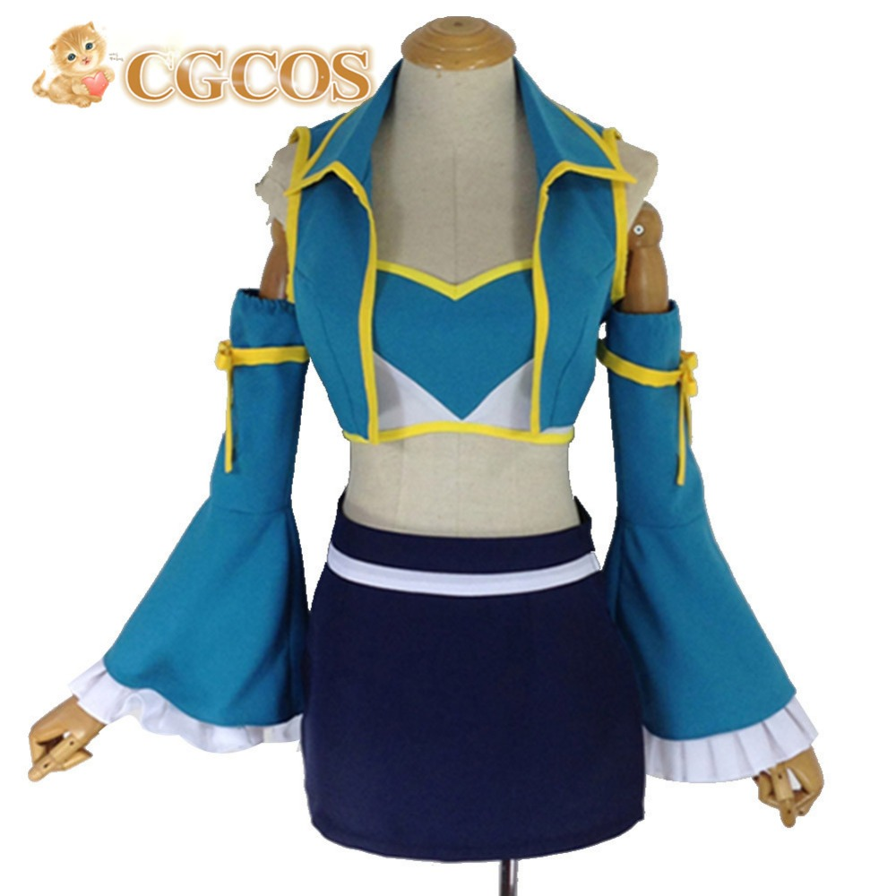 Halloween Christmas Cosplay Costume Fairy Tail Lucy Heartfilia 7 years  later Free Shipping - Online Buy Wholesale Lucy Heartfilia Cosplay Costume From China