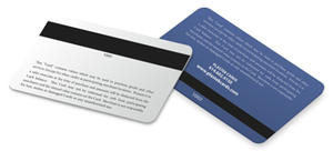 ISO Standard Colorful Plastic PVC Magnetic Cards