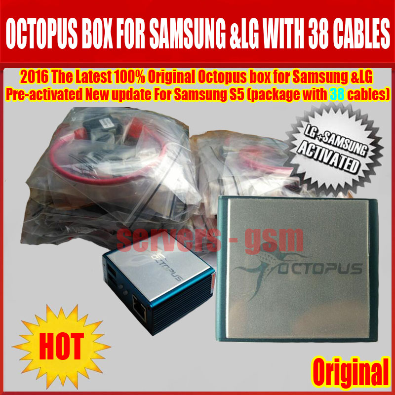 US $289 6 |newest Octopus box full activation for Samsung for LG +39 cables  unlock,repair,flash etc    Free Fast shipping-in Telecom Parts from