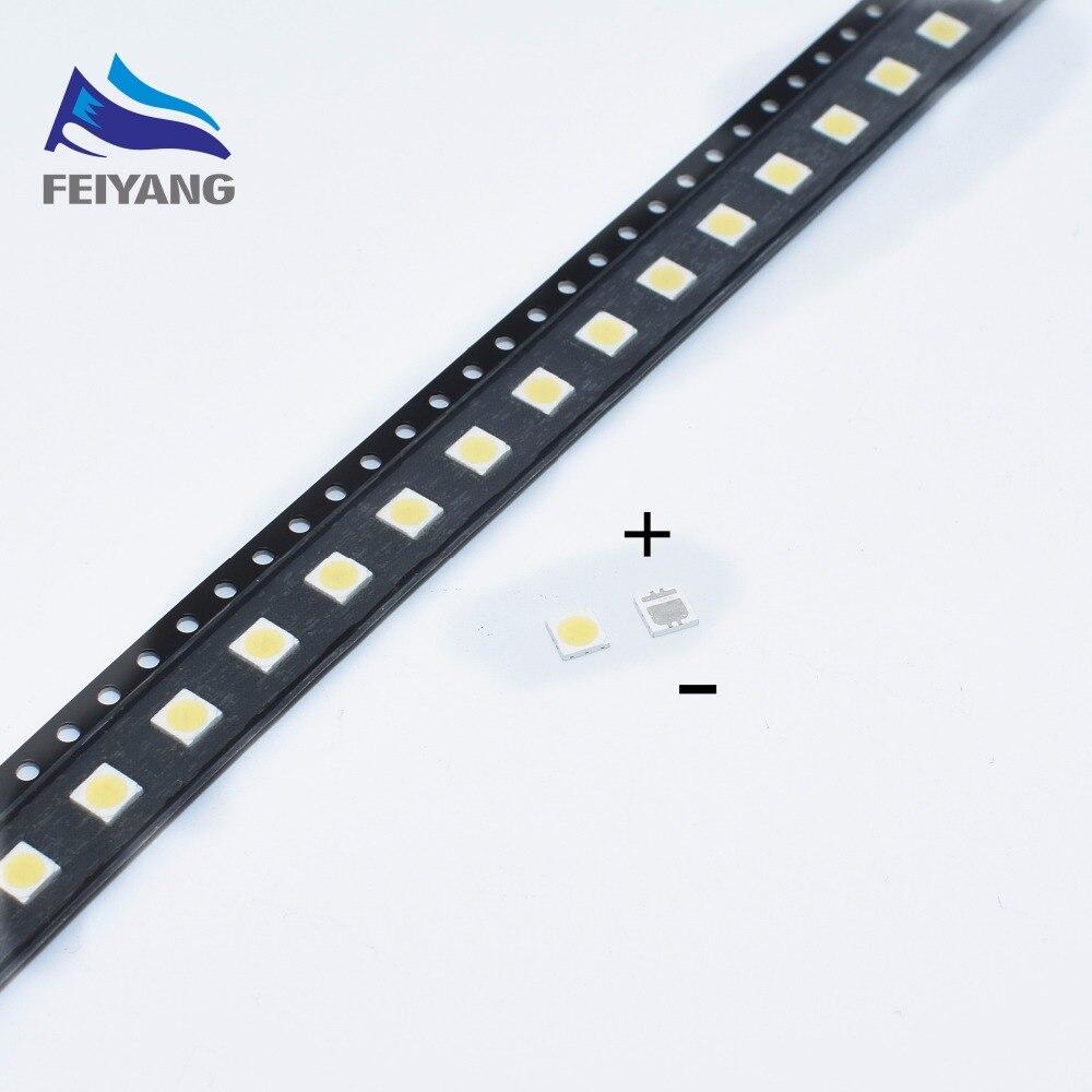 100pcs SEOUL High Power LED LED Backlight 2W 3535 6V Cool White 135LM TV Application SBWVL2S0E