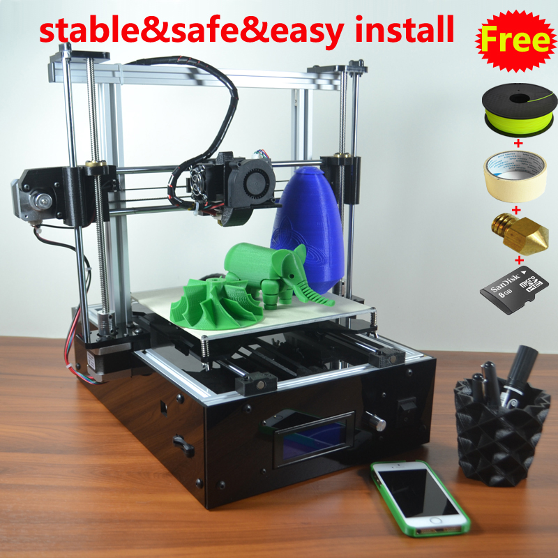 Reprap Prusa i3 3D font b Printer b font Cabinet Base Easy assembly Aluminum frame more