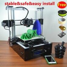 Impresora 3D Reprap Prusa i3 Base Del Gabinete, Fácil montaje, marco De Aluminio, más estable, más seguro, todo El equipo de CONTROL de calidad, Garantizar la calidad