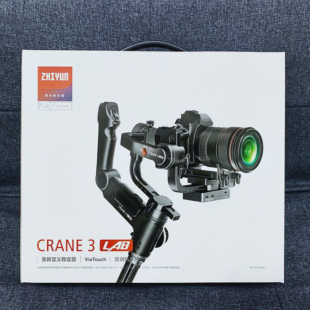 ZHIYUN grue 3 labo 3 axes stabilisateur de cardan portable sans fil estabilizador appareil photo à cardan DSLR pour Canon Nikon Sony Blackmagic-in Cardan à tenir à la main from Electronique    1
