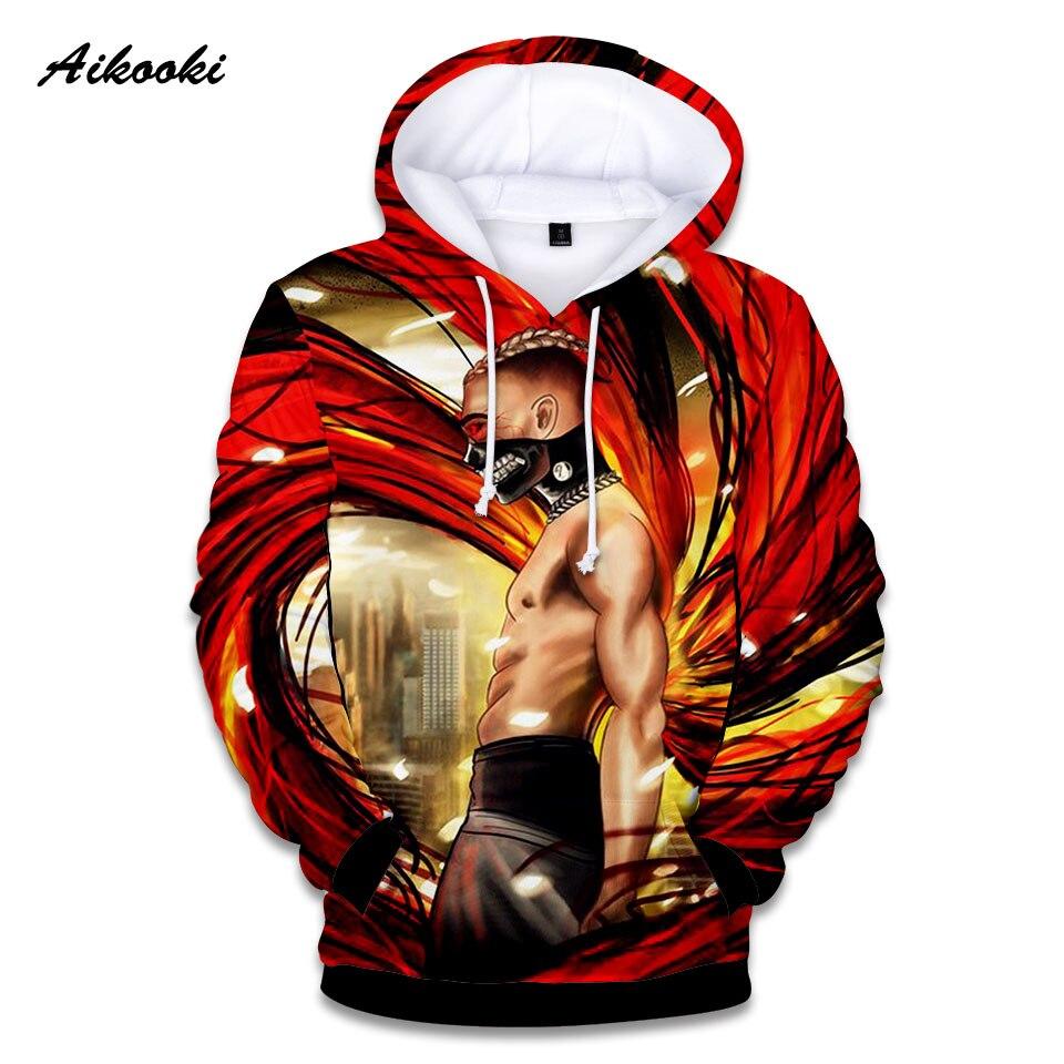 Aikooki 3D Xxxtentacion Hoodies hombres mujeres sudadera cantante Xxxtentacion  Hoodie algodón sudadera niños niñas Hip Hop Thin Tops - Memang Store 18f125d5b80