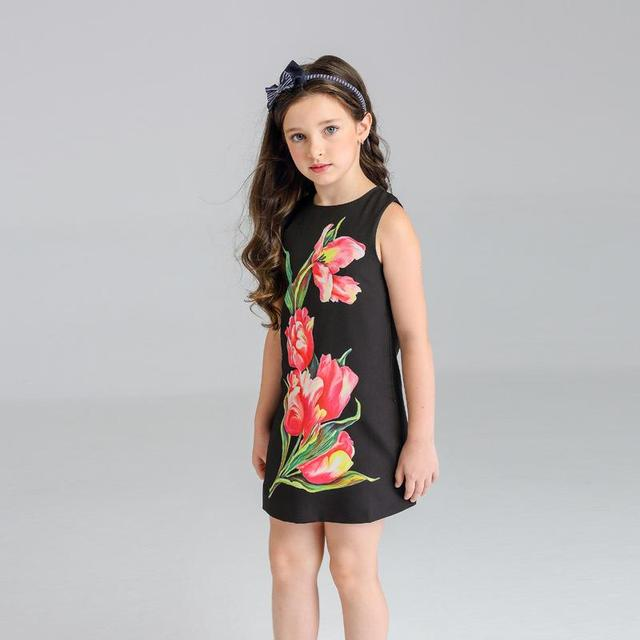 22fd9254362 US $22.9 |2017 new summer and spring Children's wear new dress Jacquard  girls sundresses fashion casual dress-in Dresses from Mother & Kids on ...