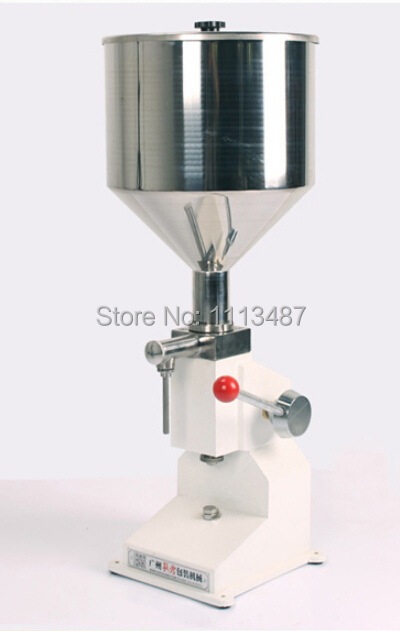 High Quality Manual Paste & Liquid Filling machine Filler 5-50ml A03 high quality pneumatic paste