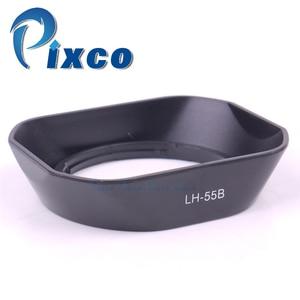 Image 1 - Pixco LH 55B Baionetta Lens Hood Ombra Vestito Per Olympus M. Zuiko ED 9 18mm F4.0 5.6 EZ Lens Sostituire Plastica