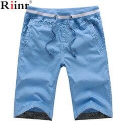 Riinr 2017 new arrivals cotton men shorts homme beach slim fit bermuda masculina joggers men s.jpg 250x250