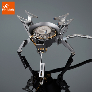 Image 3 - Fire Maple Titanium Gas Burners Camping Equipment Ultralight Foldable Burners FMS 100T Split Gas Stove Outdoor Camping Stoves