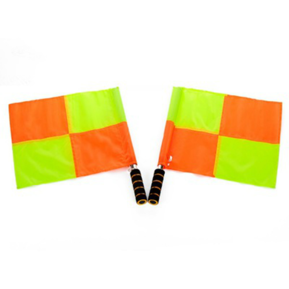 2 pcslot Sport Linesman Flags Fair Play Soccer Football Referee Flags Football Sideline Football Match Flags