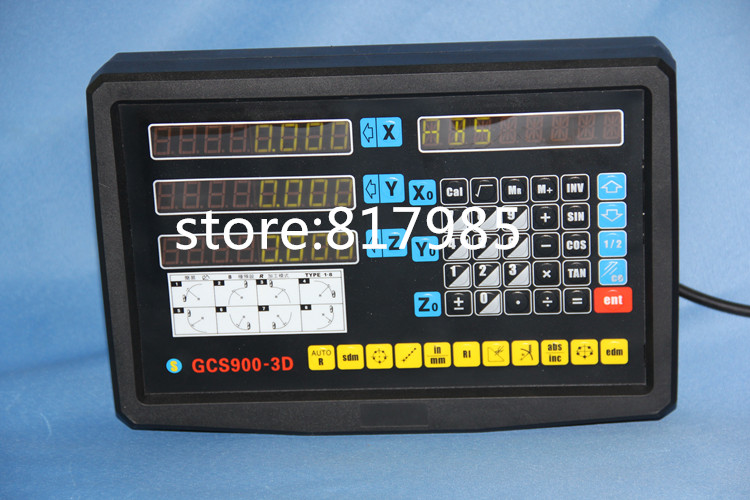 цена на 3 axis digital readout CNC lathe mill dro linear scale linear encoder 50-1020mm 5um optical sensor scale,indicator linear ruler