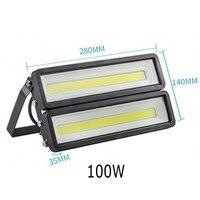 Waterproof IP66 LED Flood Light 50W 100W 150W 200W 220V 240V COB LED Flood Light Spotlight Garden Lawn Light Wall Light lamp