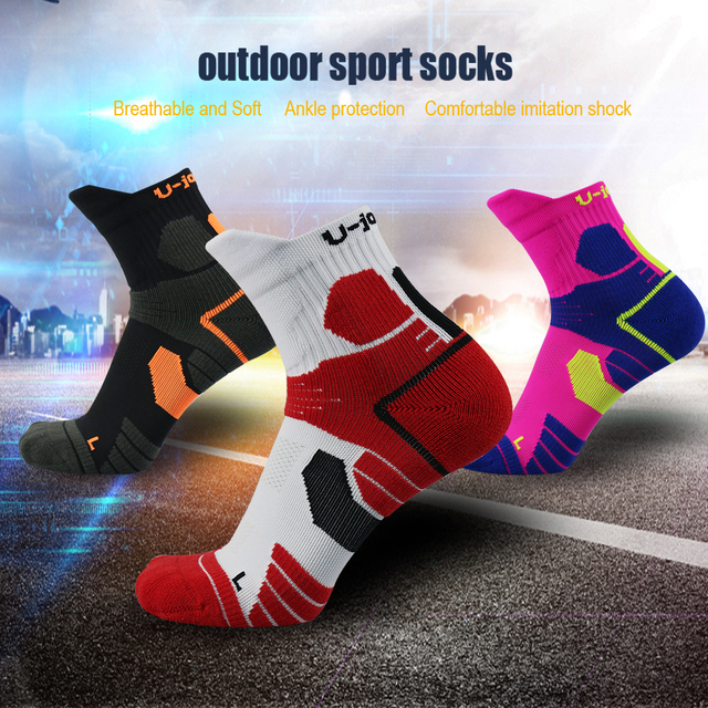UG Men Woman Winter Warm Thermal Ski Socks Thick Cotton Sports Snowboard Cycling Skiing Soccer Socks calcetines ciclismo