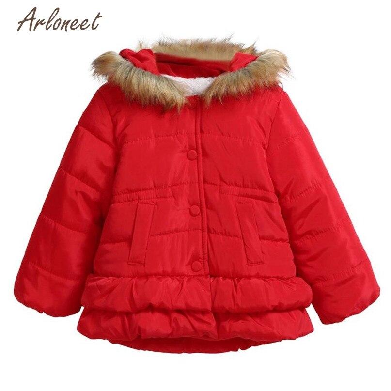Telotuny Куртки и пальто для женщин Модная одежда для детей, Детская мода для девочек и мальчиков осень-зима хлопковые пальто с капюшоном Толста...