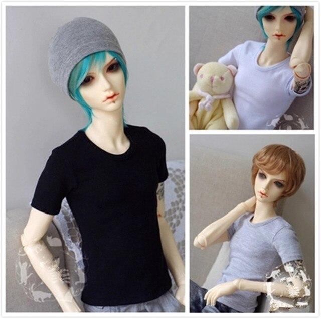 Basic Short Sleeve T-shirt for  BJD Doll 1/6 YOSD,1/4 MSD,1/3 SD10/SD13,SD17,Uncle,SSDF Doll Clothes CMB26