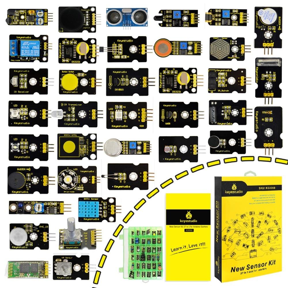 new-packing-keyestudio37-in-1-sensor-kit-for-font-b-arduino-b-font-programming-education-37pcs-sensors-37-projects-pdf-video