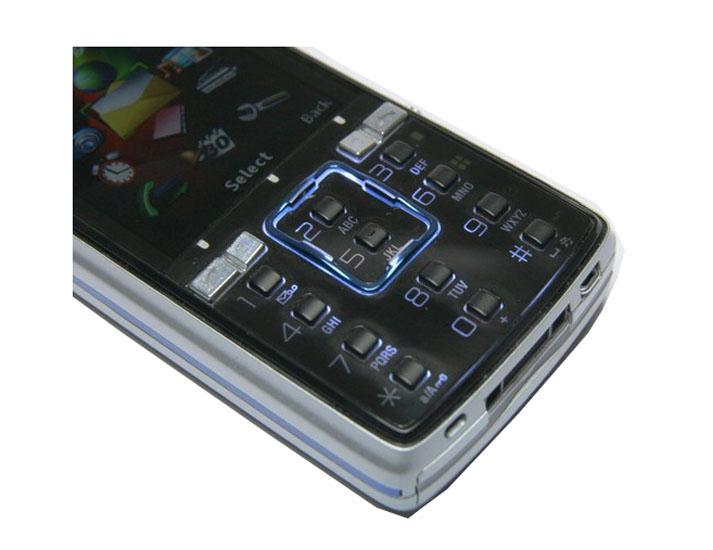 Refurbished phone Sony Ericsson K850i K850 Mobile Phone 3G 5MP Camera Bluetooth Cell phone blue 4