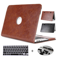 Case For Macbook Air 13 inch,Redlai PU Leather Holster Laptop Case For Macbook Air 13.3 inch A1466 A1369 Shell with Hand Strap