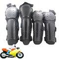 Negro de La Motocicleta Moto Protector de La Rodilla Shin Guardia Brazo Almohadillas Corsé Adulto Motocross protección Kits Equipo