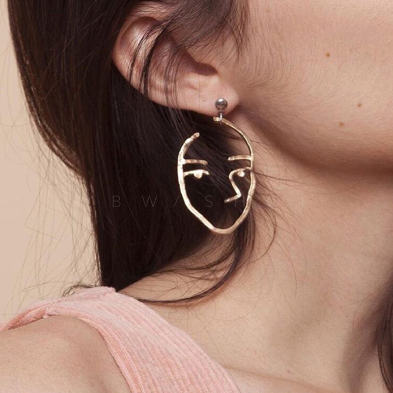 Νέα αξεσουάρ κοσμημάτων μόδας Bohemia κοίλο περίεργο σχέδιο σκουλαρίκι με κουδούνι το καλύτερο δώρο για την εραστή χονδρική E353