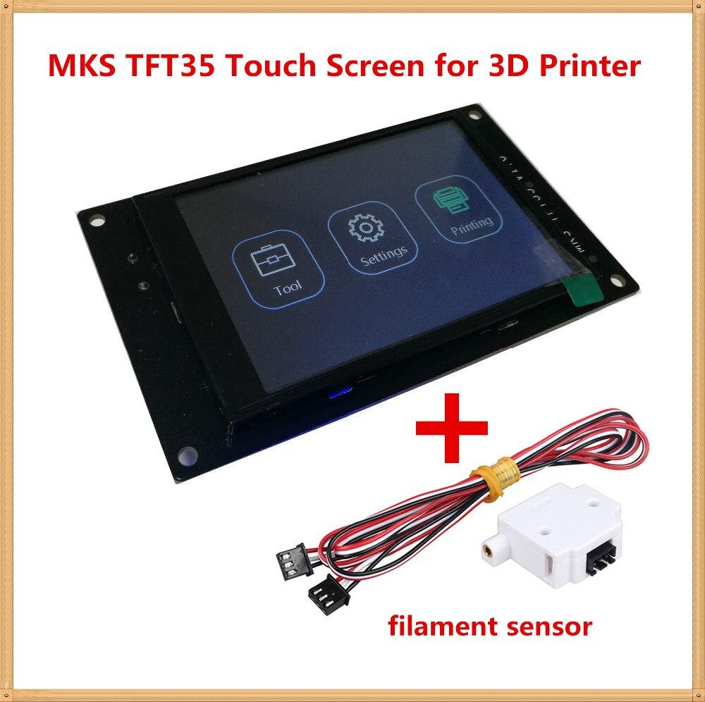 3d imprimante affichage MKS TFT 35 V1.0 tactile écran 3.5 pouces LCD panneau TFT moniteur couleur creen displayer hors ligne controllor