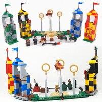 LELE 39147 540pcs New Harri Potter Match Building Blocks Bricks Toys Compatible with 75956 Set Figures