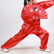 Comfortable Middle Ages Costumes Tai Chi Wushu Clothing Unisex Arts Uniform Kung Fu Women's Clothing Whole