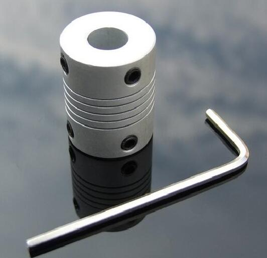 1pcs K547 Aluminum Motor Shaft Connector Elastic Flexible Coupling Coupler 20 Styles Shaft to Shaft D19L25 DIY Car Boat Parts