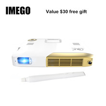 Big discount Mini Portable Proyector Beamer Android TV LED Full HD 1080p Home Theater Business Office School Education Projector Interactive