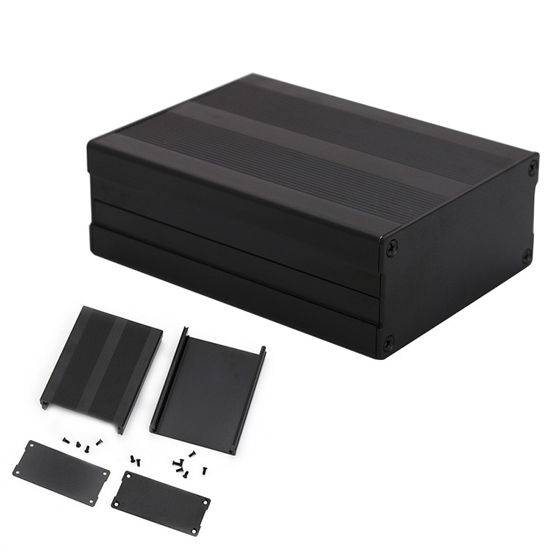 1 PC Aluminum Case Box For Circuit Board Electric PCB Shell Shied Enclosure Amplifier|box for|box box|box for amplifier - title=