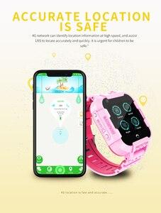 Image 2 - 696 DF39Z 4G Kids Smart Watch GPS Wifi Tracker Smartwatch Touch Screen SOS SIM Phone Call Waterproof Children Gift Camera Watch