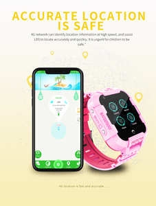 Image 2 - 696 df39z 4g 어린이 스마트 시계 gps 와이파이 추적기 smartwatch 터치 스크린 sos sim 전화 방수 어린이 선물 카메라 시계