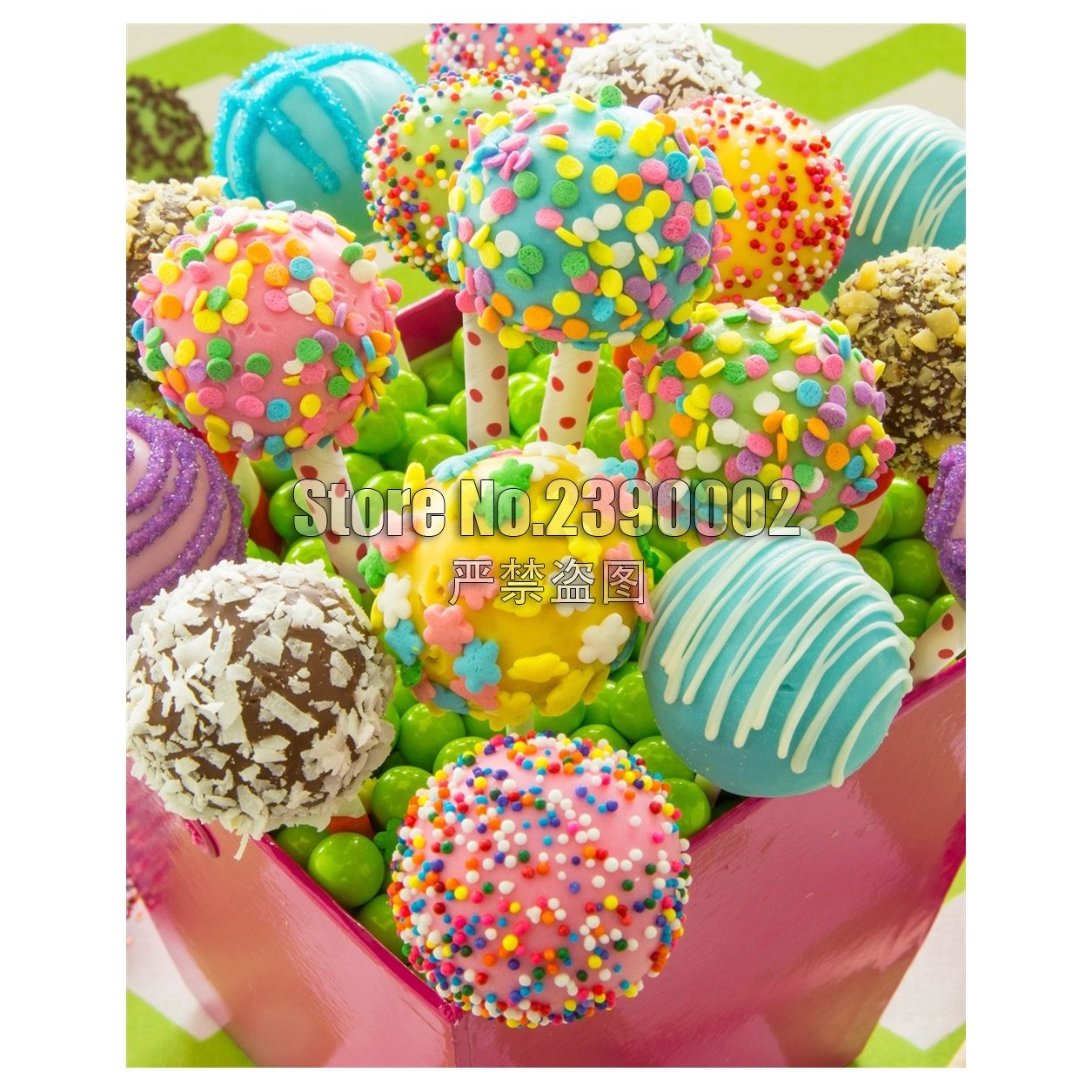 Cake Pops 5D Diy Diamond Painting Cross Stitch Mosaic Embroidery Candy & Treat full Posters Rhinestone Paintings