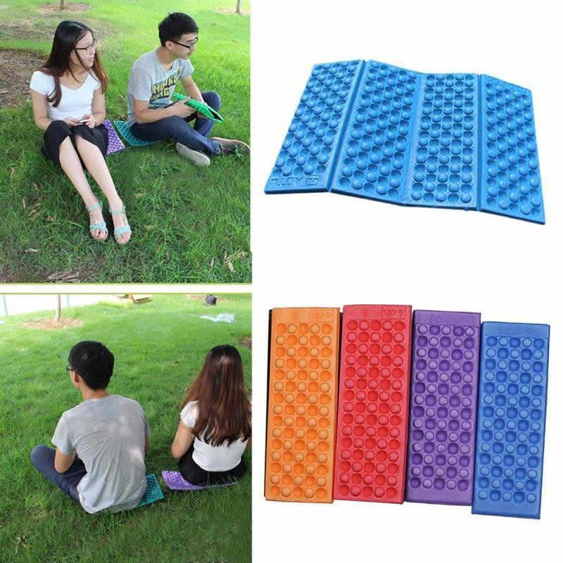 6 Colors Foldable Moistureproof Folding Outdoor Camping EVA Mat Seat Foam Portable Chair Picnic Mat Pad