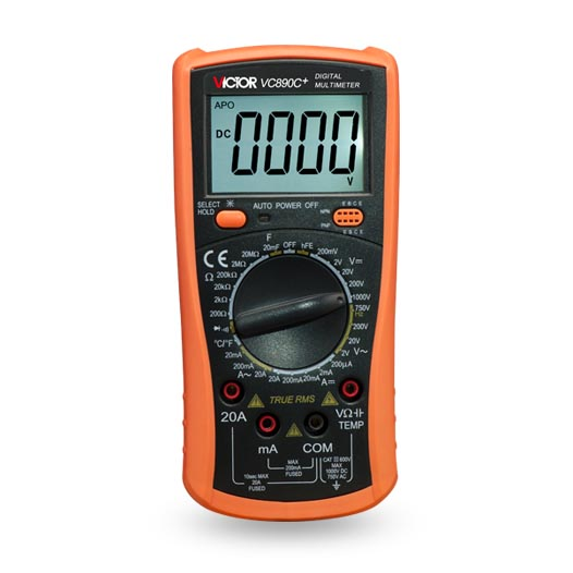 VICTOR VC890C+ Digital Multimeter True multimeter capacitor temperature measurement multimeter digital professional зонт zest 45510