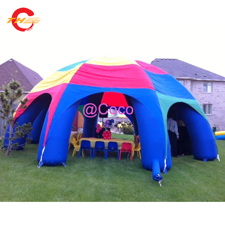 online store c9e8d 34d3b US $800.0  free air ship to door!8m/10m/12m outdoor giant inflatable tent,  durable oxford inflatable camping tent party events spider tents-in ...