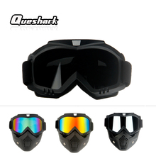 Queshark Professional Ski Snowboard Mask Winter Ski Snowmobi