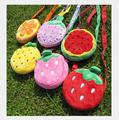 2017 Fruits Messenger Bags For Kids Women Crossbody Bags Female Phone Storage Bags Children Inclined shoulder bag