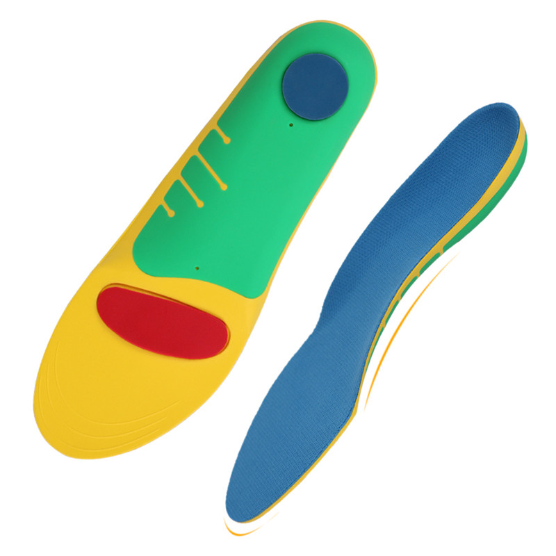 1Pair Flat Foot Insoles Foot Arch Support Cushion Orthopedic Insole for Flatfoot Correction Sports Shoe Inserts Foot HK60