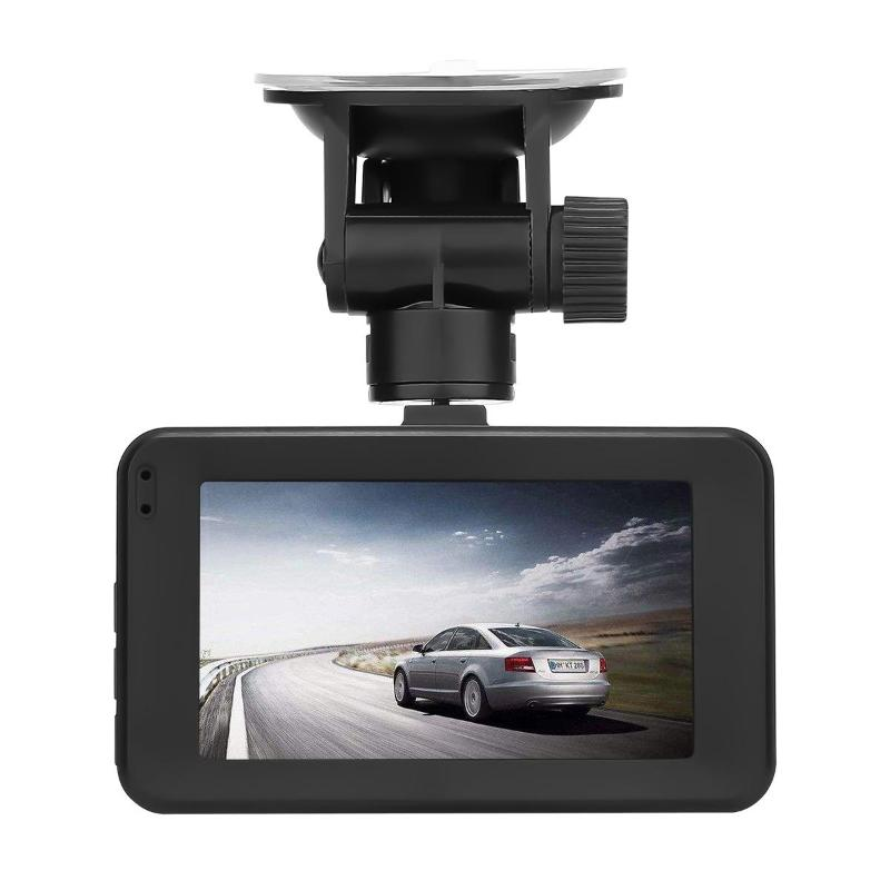 VODOOL Portable V41 3 inch 1080P HD Car DVR Dash Cam Dual Lens 170 Degree Camera G-sensor Video Recorder Registrator Dash Cam цена